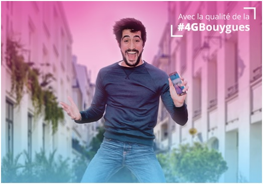 Le forfait B&YOU 20 Go est à 2,99 euros — Bouygues Telecom