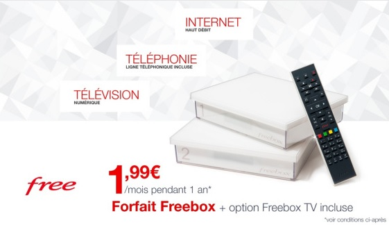 vente privée, freebox, free