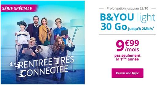 bouygues telecom, série spéciale b&you