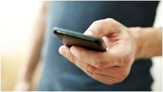 mobile, réseau, smartphone