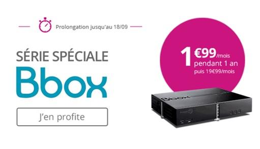 série spéciale bbox, bouygues telecom