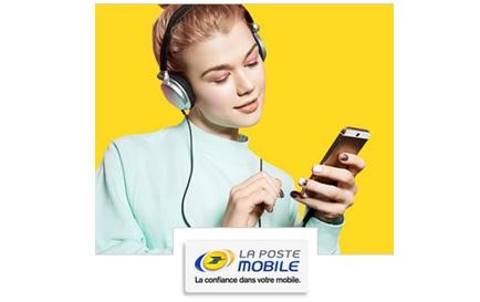 la poste mobile, forfait SIM, opérateur mobile