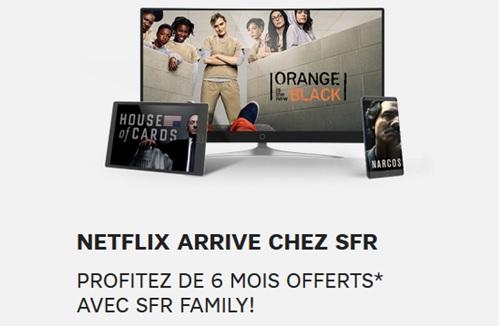 Les abonnés pourront accéder aux contenus de Netflix — Altice (SFR)