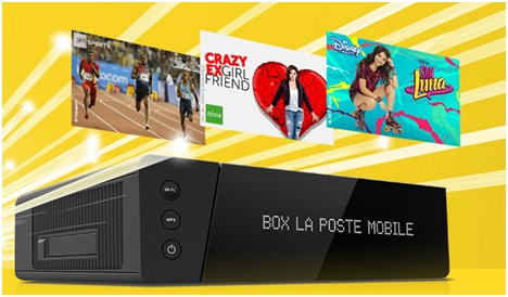 box tv plus, la poste mobile