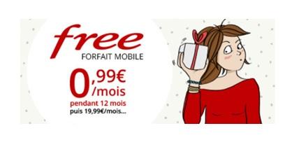 vente privee, free mobile, forfait free