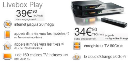 livebox sans abonnement france telecom. Black Bedroom Furniture Sets. Home Design Ideas
