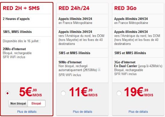 Forfait Mobile Red Plus Que Quelques Jours Pour Profiter D
