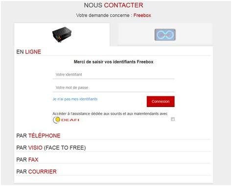 Nouveau Chez Free Le Service D Assistance Par Webcam Est