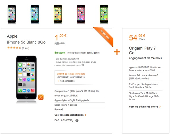 bon plan du web orange l iphone c go en vente flash a