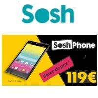 sosh phone 4g baisse de prix
