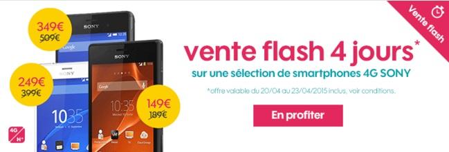 Bon plan du moment : Le Sony Xperia Z3 en promo a 349e avec un forfait Sosh sans engagement !...