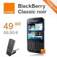 bon plan du web orange blackberry classic