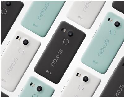 lancement des précommandes du Nexus 5X le 2 novembre chez Orange