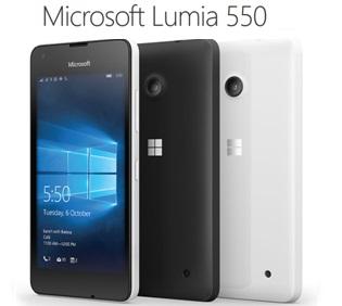 microsoft lumia 550 en promo avec un forfait sans. Black Bedroom Furniture Sets. Home Design Ideas