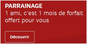 Parrainage RED By SFR