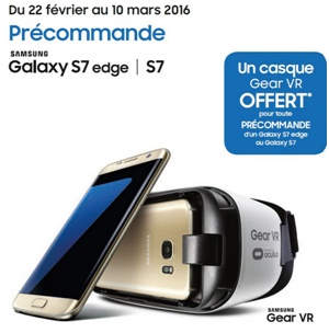 Casque Gear VR Samsung