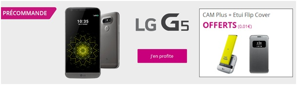 LG G5 Bouygues Telecom