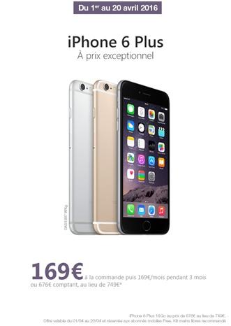iPhone 6 Plus Free