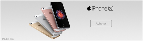iPhone SE SOSH