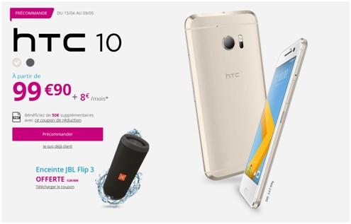 HTC 10 Bouygues Telecom