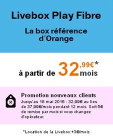 orange les offres livebox fibre du moment. Black Bedroom Furniture Sets. Home Design Ideas