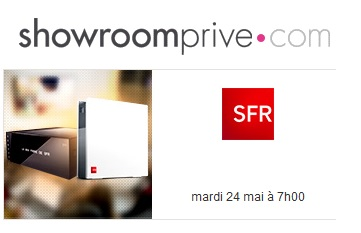 nouvelle vente priv e sfr box fibre et adsl d s demain. Black Bedroom Furniture Sets. Home Design Ideas