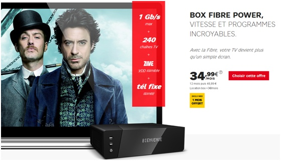 Box Fibre Power de SFR