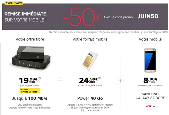 Sfr Iphone  Offre