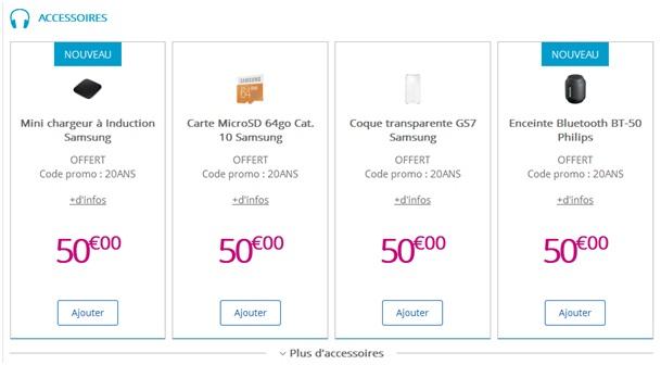 Samsung Galaxy S7 ou S7 Edge : un accessoire au choix offert avec ...