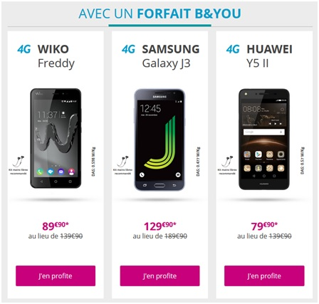 B&YOU smartphone