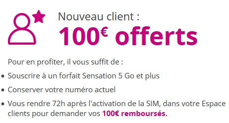 remboursement 100€