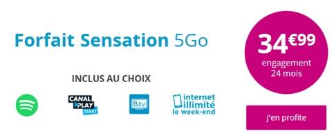 Sensation 5Go