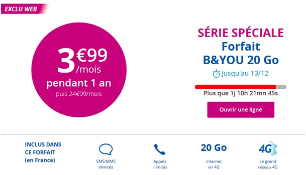 les bons plans de no l bouygues telecom s rie sp ciale b you bbox miami et vente flash iphone. Black Bedroom Furniture Sets. Home Design Ideas
