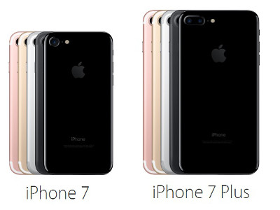 difference entre iphone 6s et iphone 7