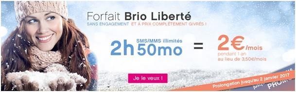 Brio Liberté 2H