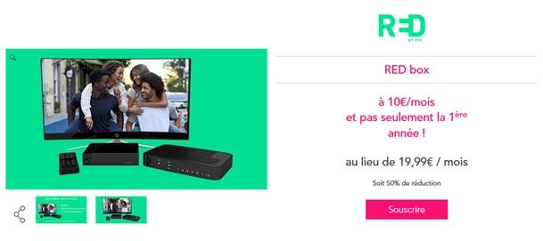 vente privée red by SFR