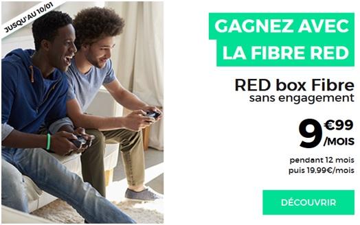 Box Internet Fibre RED by SFR