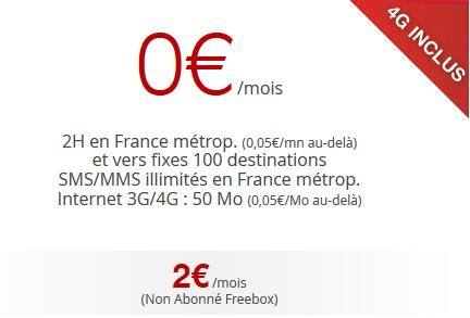 Quel forfait mobile 2 euros choisir free mobile cdiscount syma mobile coriolis ou prixtel for Internet 28717