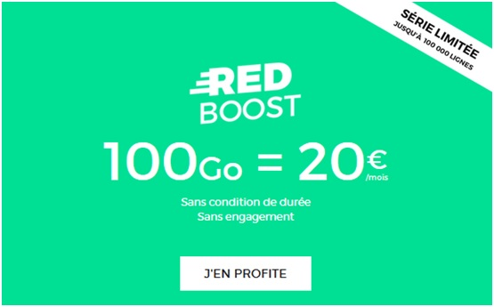 RED boost 100Go