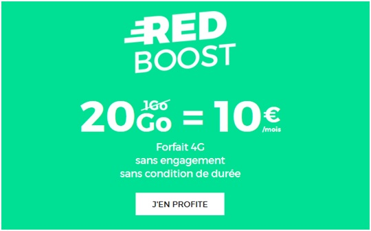 tout savoir sur le forfait red by sfr 20go 10 euros par. Black Bedroom Furniture Sets. Home Design Ideas