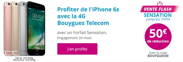 Vente flash Bouygues Telecom