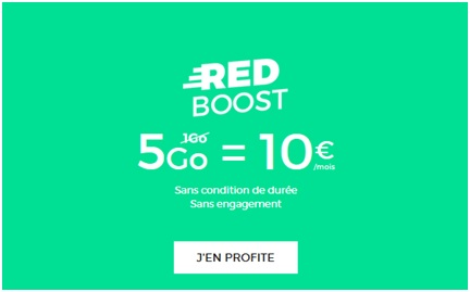 RED boost 5Go