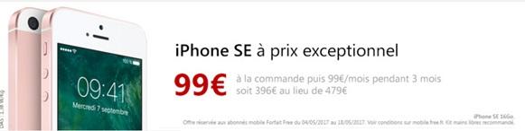 iphonese-prix-free