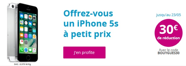 iphone 5s bouygues telecom