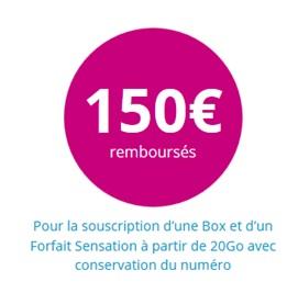 150€ bouygues telecom