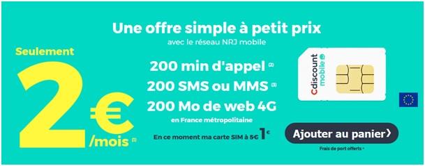 Carte Cdiscount Mobile.Tout Savoir Sur L Offre Cdiscount Mobile A 2 Euros Par Mois