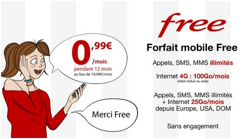 vente flash Free Mobile