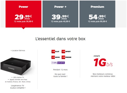 prolongation votre tv samsung offerte avec une box fibre power ou plus sfr altice. Black Bedroom Furniture Sets. Home Design Ideas