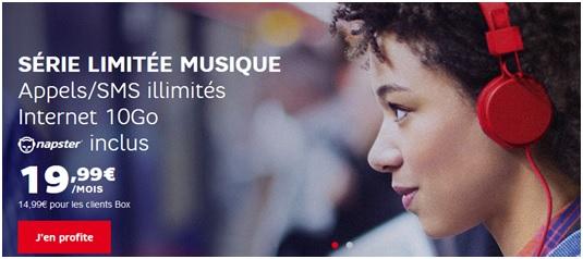 Série Limitée Musique SFR