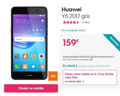 Huawei Y6 2017 SOSH